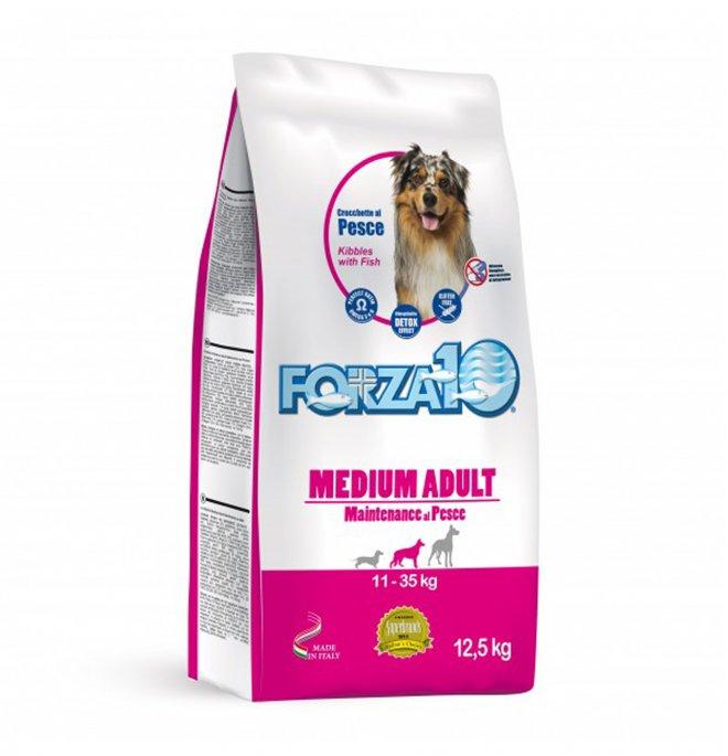 Forza10 cane adult medium maintenance pesce da 12,5 kg