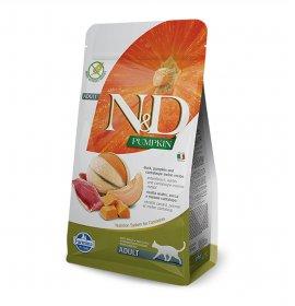 Farmina n&d delicious grain free gatto adult con anatra zucca e melone cantalupo da 5 kg