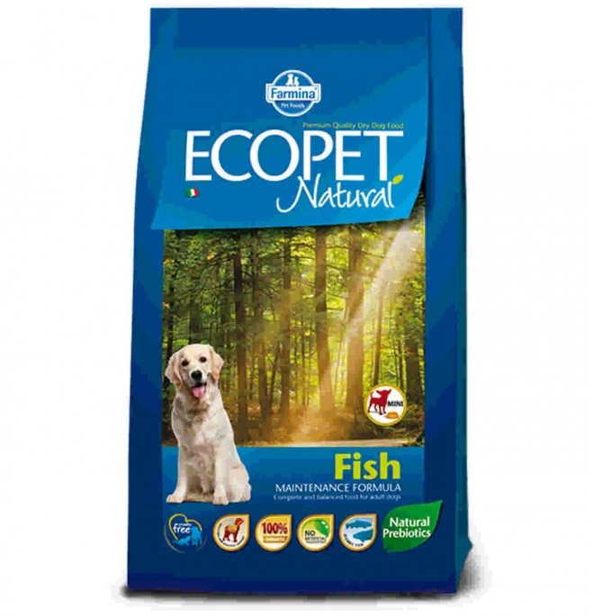 Farmina ecopet natural adult mini al pesce da 2,5 kg