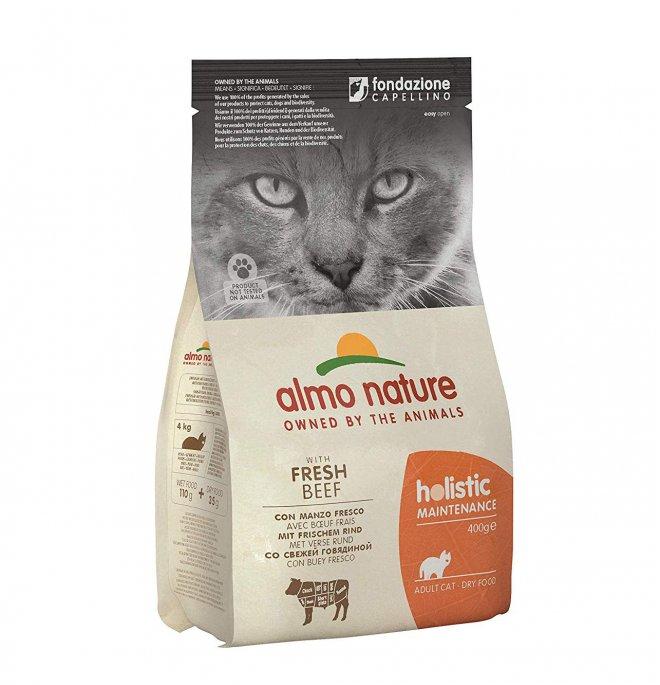 Almo nature gatto holistic adult con manzo e riso da 400 gr