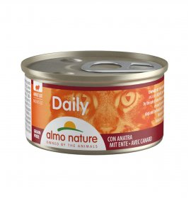 Almo nature gatto dailymenu mousse con anatra da 85 gr in lattina